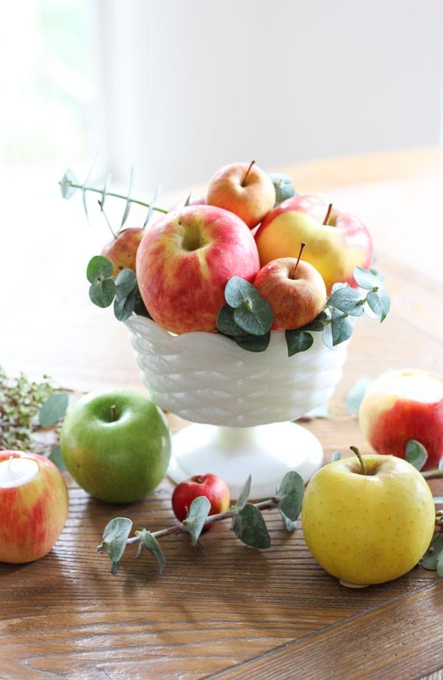 Trang trí nhà đậm sắc thu từ hoa quả xinh yêu có sẵn trong mùa