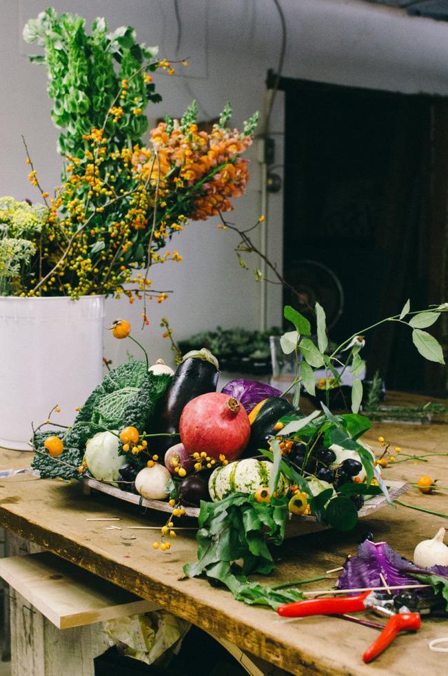 Trang trí nhà đậm sắc thu từ hoa quả xinh yêu có sẵn trong mùa - 2