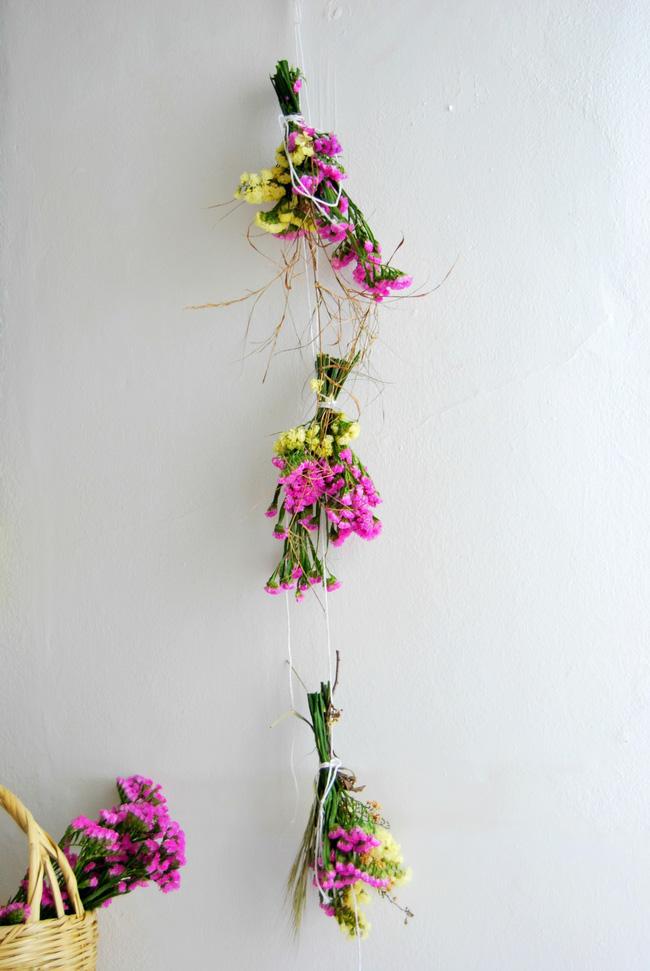 Hướng dẫn cách làm hoa khô đơn giản từ hoa tươi giúp nhà đẹp mà lại tiết kiệm chi phí - 3