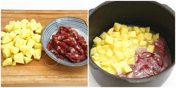Có 2 món ngon dễ làm kết hợp với lạp xưởng các mẹ đừng bỏ qua để bữa cơm thêm phong phú! - 4