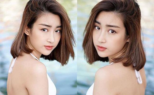 Hoa hậu Đỗ Mỹ Linh khoe ảnh gợi cảm
