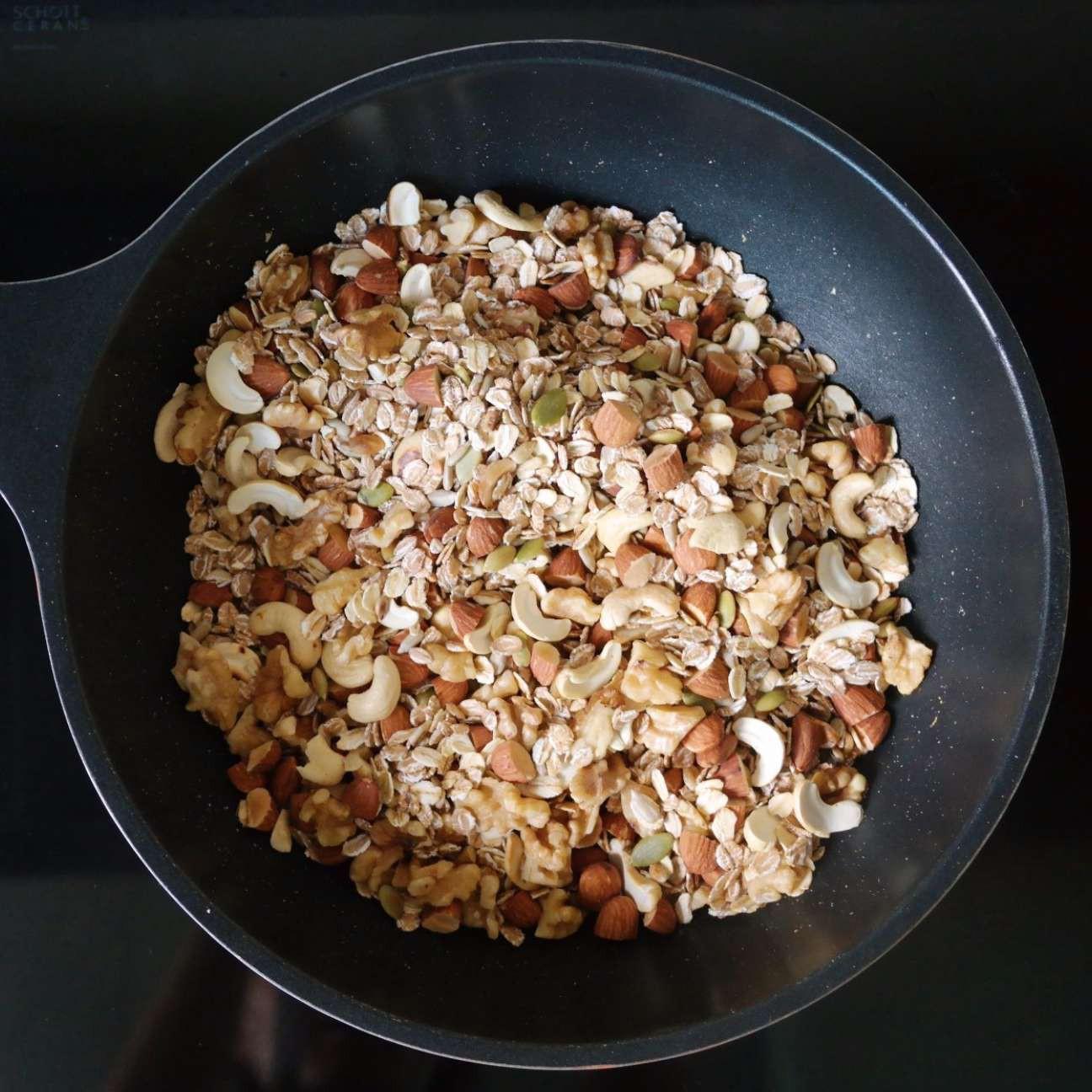 Cuối tuần rảnh làm ngay thanh ngũ cốc để ăn dần trong cả tuần cực tiện - 1