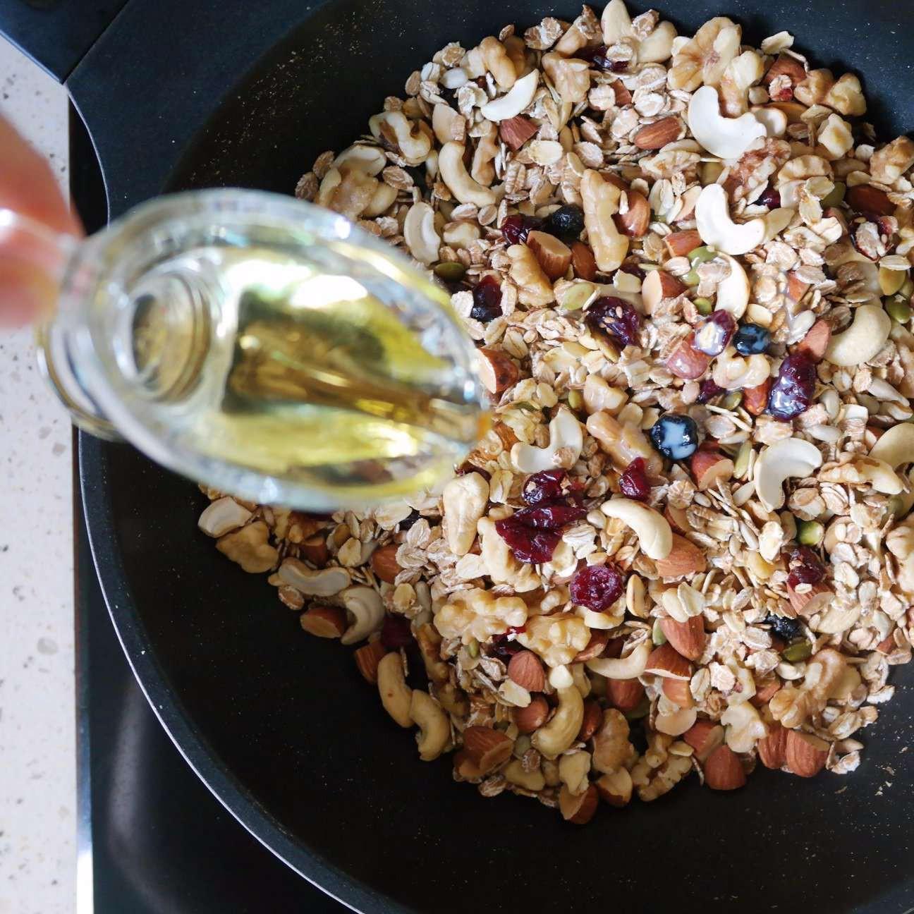 Cuối tuần rảnh làm ngay thanh ngũ cốc để ăn dần trong cả tuần cực tiện - 2