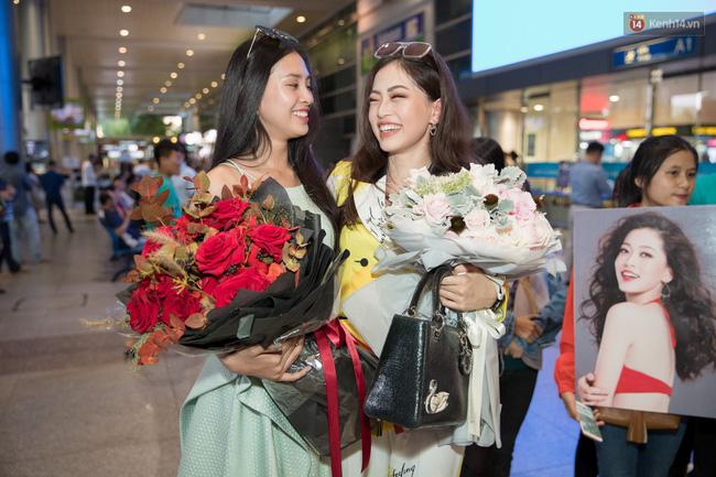 Hoa hậu Tiểu Vy ra tận sân bay đón Phương Nga trở về nước sau hành trình tại Miss Grand International 2018 - 9