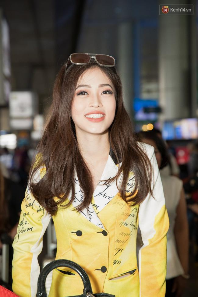 Hoa hậu Tiểu Vy ra tận sân bay đón Phương Nga trở về nước sau hành trình tại Miss Grand International 2018 - 1