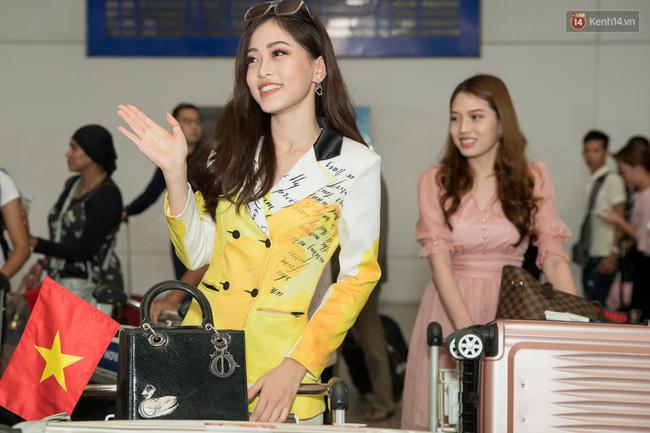 Hoa hậu Tiểu Vy ra tận sân bay đón Phương Nga trở về nước sau hành trình tại Miss Grand International 2018 - 2
