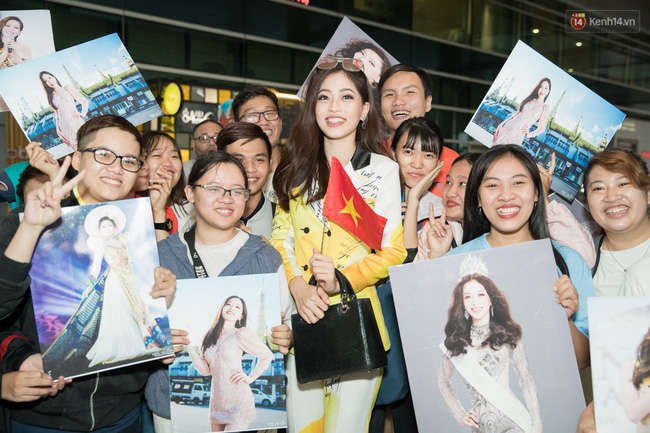 Hoa hậu Tiểu Vy ra tận sân bay đón Phương Nga trở về nước sau hành trình tại Miss Grand International 2018 - 4