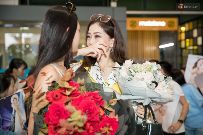 Hoa hậu Tiểu Vy ra tận sân bay đón Phương Nga trở về nước sau hành trình tại Miss Grand International 2018 - 8