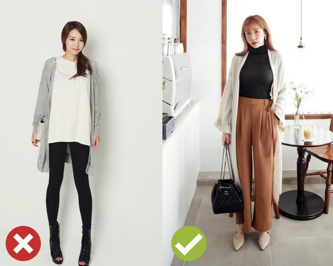 Áo khoác cardigan rất xinh và trendy nhưng để diện không bị luộm thuộm, dìm dáng thì các nàng cần nhớ 3 tips sau