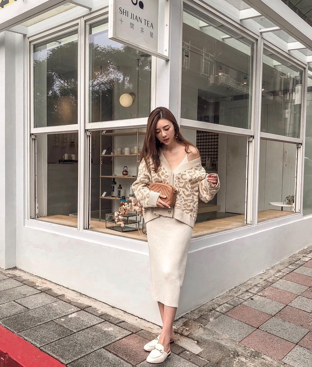 Áo khoác cardigan rất xinh và trendy nhưng để diện không bị luộm thuộm, dìm dáng thì các nàng cần nhớ 3 tips sau - 12