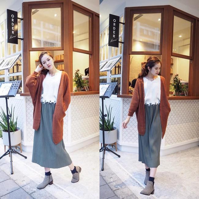 Áo khoác cardigan rất xinh và trendy nhưng để diện không bị luộm thuộm, dìm dáng thì các nàng cần nhớ 3 tips sau - 13