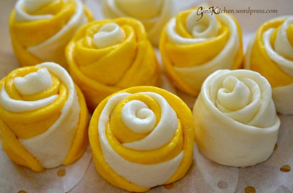 Mãn nhãn món bánh bao hoa hồng rực rỡ sắc màu - 2