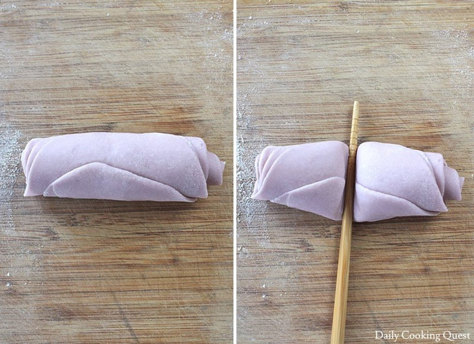 Mãn nhãn món bánh bao hoa hồng rực rỡ sắc màu - 8