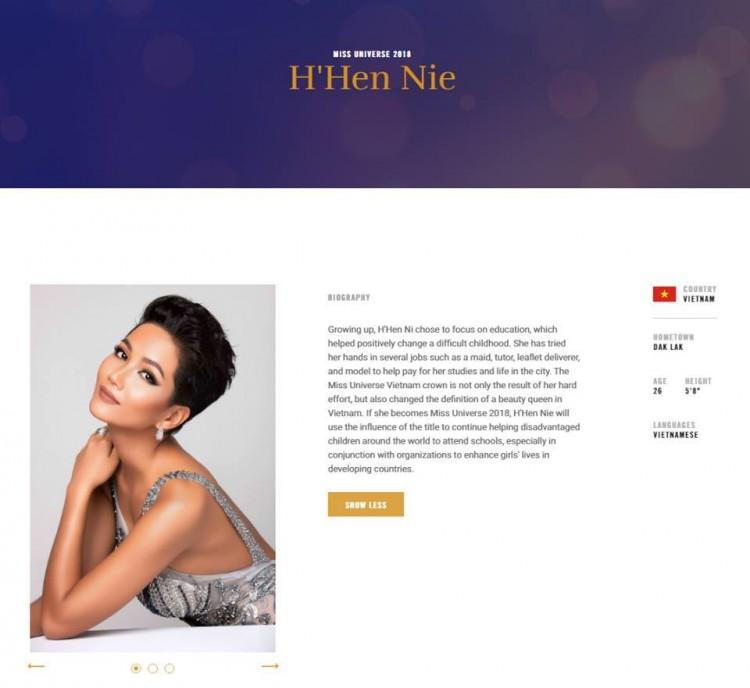 Điểm yếu 'chết người' của H'Hen Niê tại Miss Universe 2018
