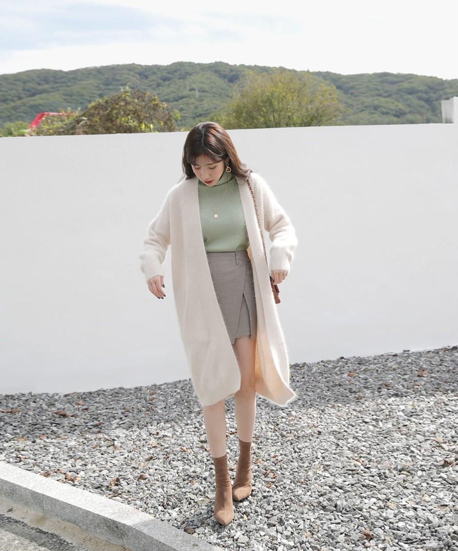 4 mẫu áo cardigan điệu nhất mùa lạnh mà nàng nào diện lên cũng dịu dàng, nữ tính hơn hẳn - 1