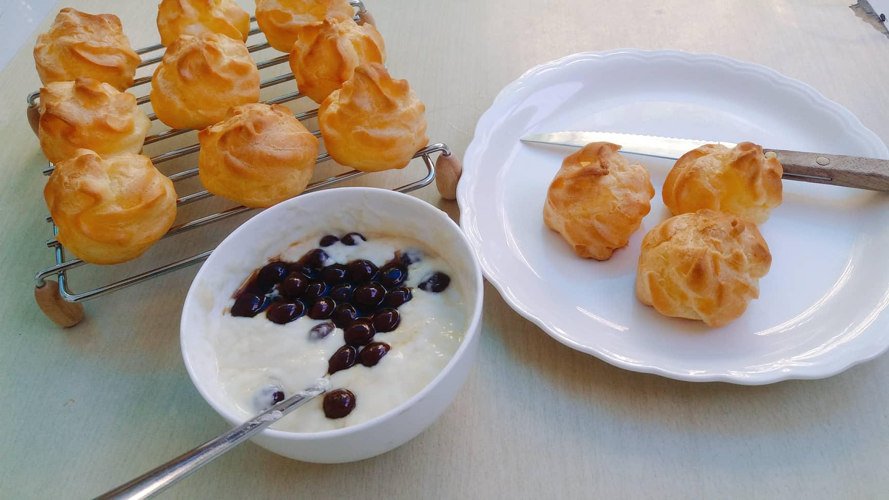 Công thức bánh su kem nhân mới lạ cho tín đồ yêu trân châu đen