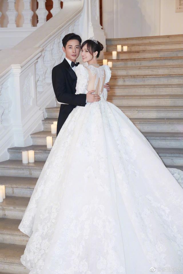 Những hình ảnh chính thức trong đám cưới Đường Yên - La Tấn được hé lộ - 1