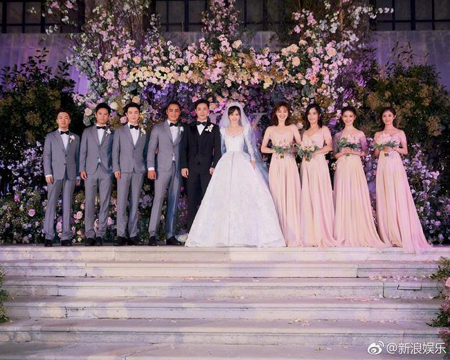 Những hình ảnh chính thức trong đám cưới Đường Yên - La Tấn được hé lộ - 2