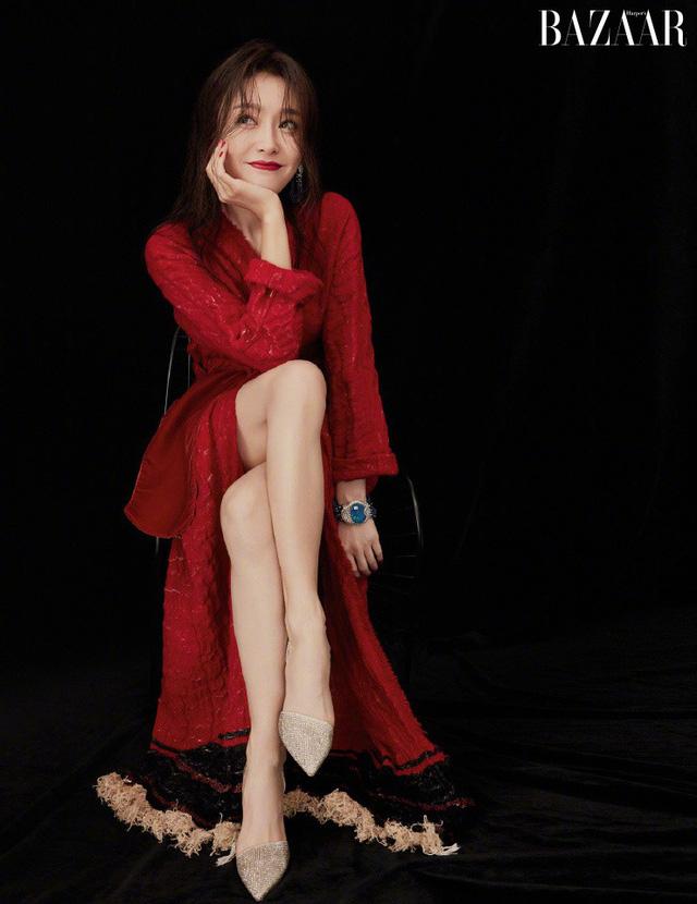 Phú Sát Hoàng Hậu Tần Lam tiếp tục được lựa chọn làm gương mặt trang bìa tạp chí Bazaar tháng 11 - 2