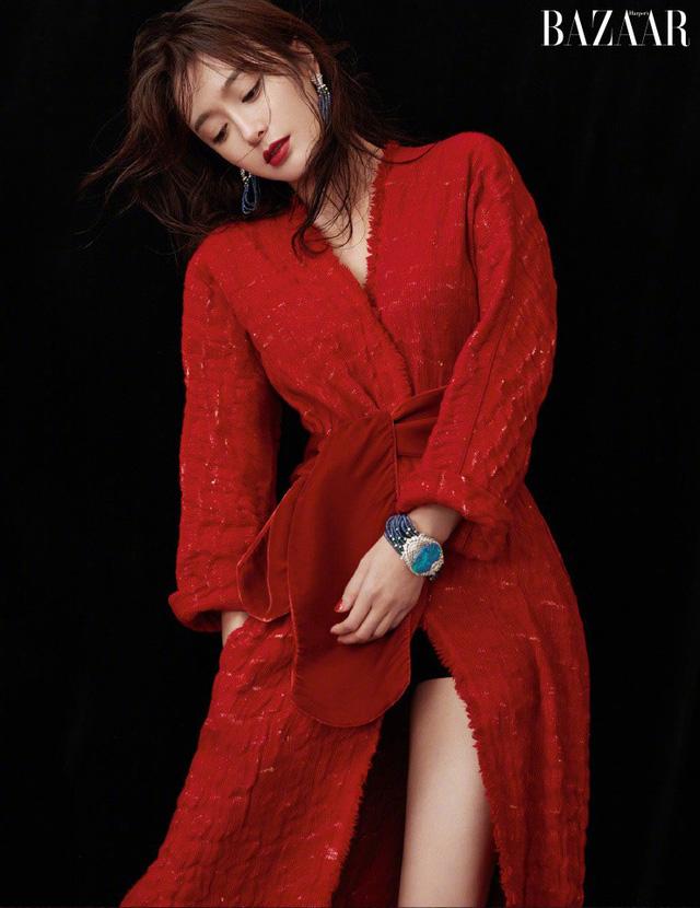 Phú Sát Hoàng Hậu Tần Lam tiếp tục được lựa chọn làm gương mặt trang bìa tạp chí Bazaar tháng 11 - 4