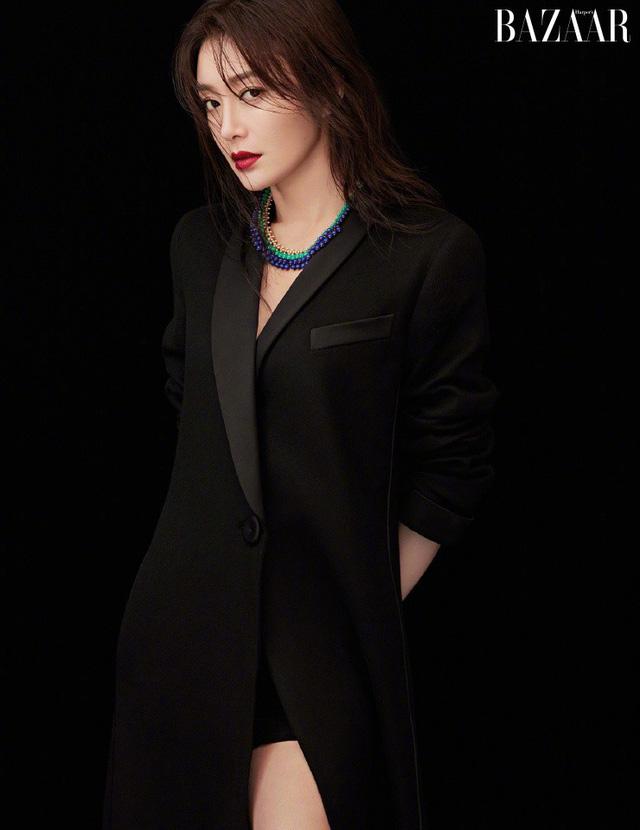 Phú Sát Hoàng Hậu Tần Lam tiếp tục được lựa chọn làm gương mặt trang bìa tạp chí Bazaar tháng 11 - 5