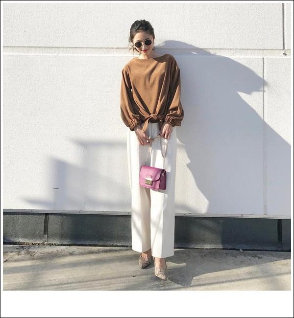 Thời trang Thu 2018: Gam màu nâu dành cho phái đẹp tỏa sáng dưới nắng Thu