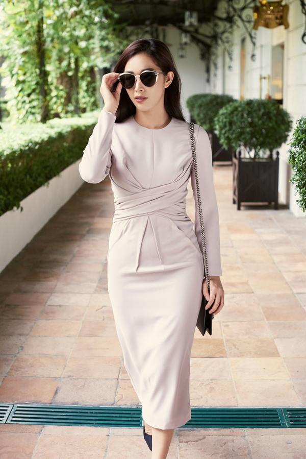 Mai Thanh Hà gợi ý chọn váy đi tiệc cho nàng văn phòng - 10