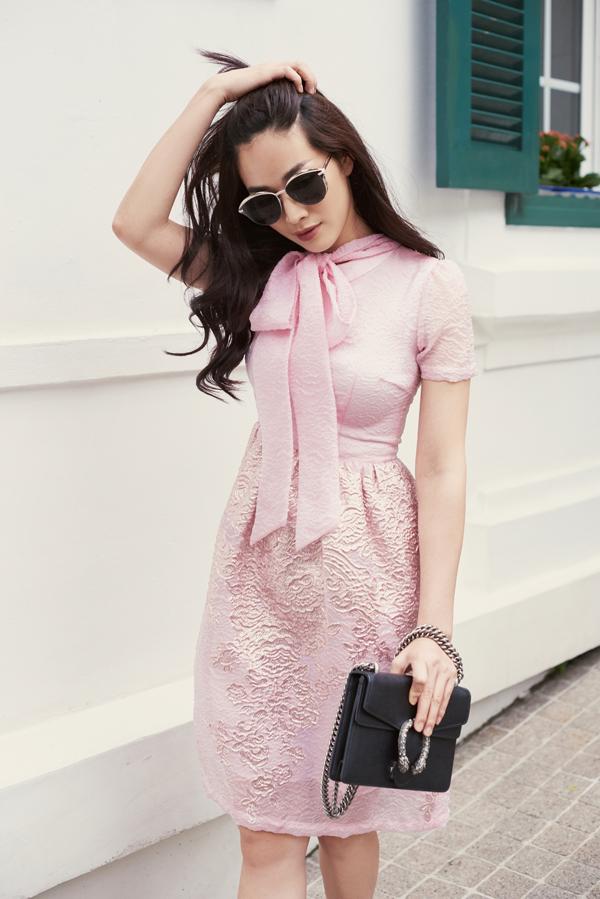 Mai Thanh Hà gợi ý chọn váy đi tiệc cho nàng văn phòng - 4