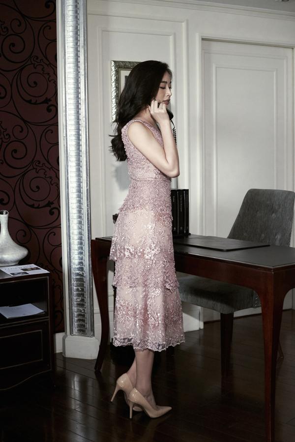 Mai Thanh Hà gợi ý chọn váy đi tiệc cho nàng văn phòng - 8