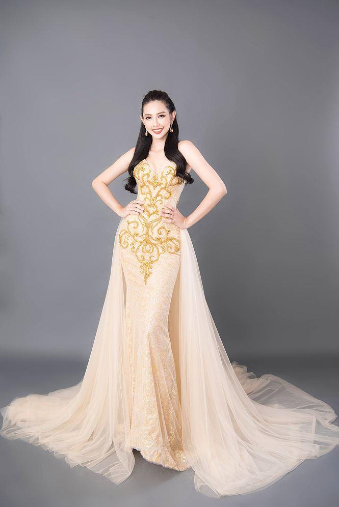 Thùy Tiên khoe sắc vóc nữ thần trước thềm chung kết Miss International