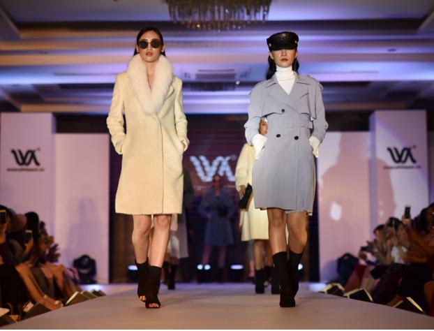 Những vật liệu xa xỉ trên sàn diễn White Ant Fashion Show 2018