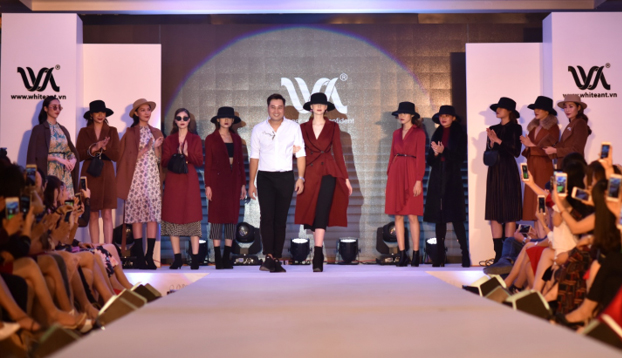 Những vật liệu xa xỉ trên sàn diễn White Ant Fashion Show 2018 - 6