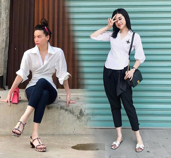 Theo chân sao Việt chọn mua 5 mẫu sơ mi đáng mua nhất hè này