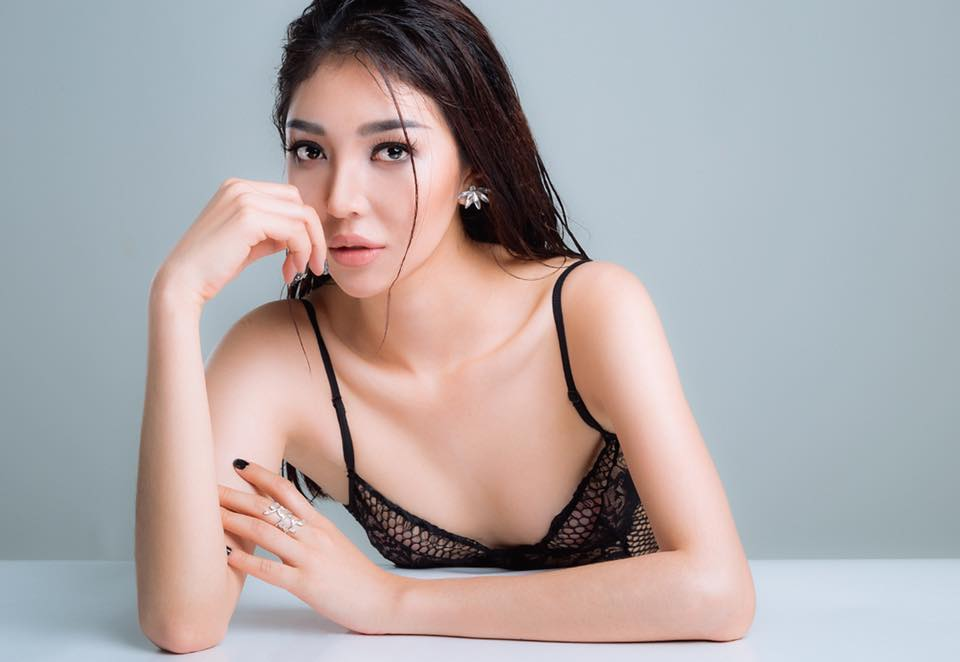 Vẻ nóng bỏng của người đẹp siêu vòng 3 thi The Face 2018