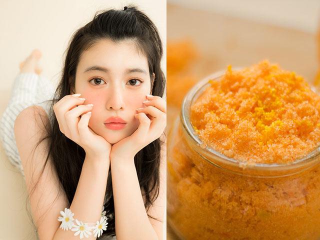 Đừng vứt bỏ vỏ cam, hãy dùng nó để răng trắng, da hết mụn