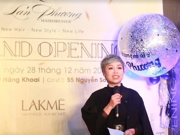 Khai trương Hairsalon Lan Phương cơ sở 2 & Kỉ niệm 10 năm thành lập thương hiệu cá nhân Nhà tạo mẫu Lan Phương