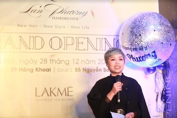 Khai trương Hairsalon Lan Phương cơ sở 2 & Kỉ niệm 10 năm thành lập thương hiệu cá nhân Nhà tạo mẫu Lan Phương - 1