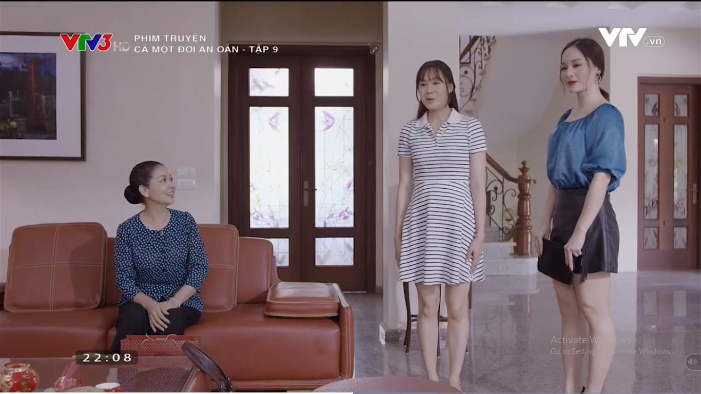 Cả một đời ân oán tập 9: Phong (Hồng Đăng) nổi giân khi chứng kiến tình cũ bị mẹ chồng quát nạt