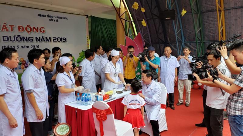Lễ phát động ngày Vi chất dinh dưỡng trên toàn quốc năm 2019 - 3