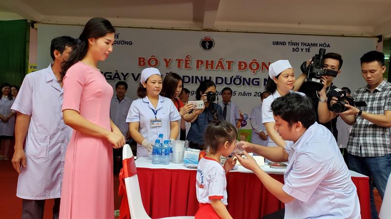 Lễ phát động ngày Vi chất dinh dưỡng trên toàn quốc năm 2019 - 5
