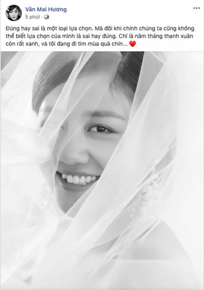 Bị nghi đăng ký kết hôn giả, Văn Mai Hương tung ảnh cô dâu, Mai Phương Thúy cùng loạt sao Việt nhiệt liệt chúc mừng